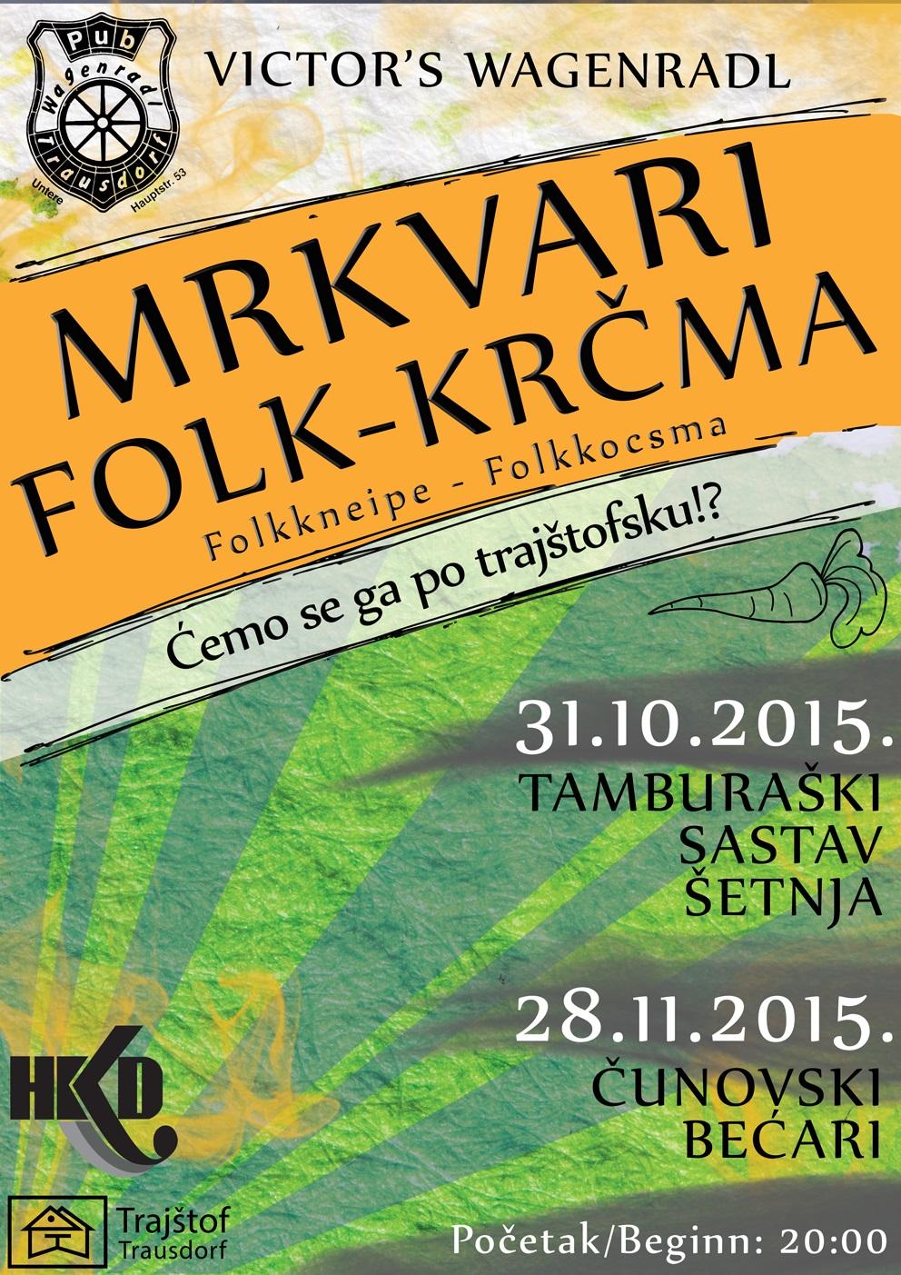 MRKVARI FOLK-KRCMA 2015